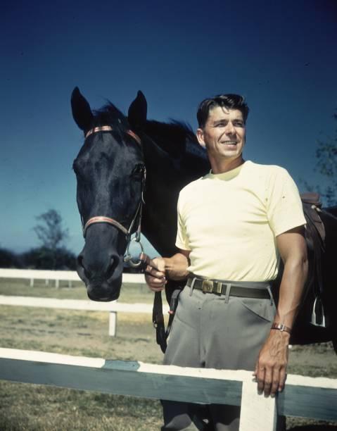 Young Ronald Reagan
