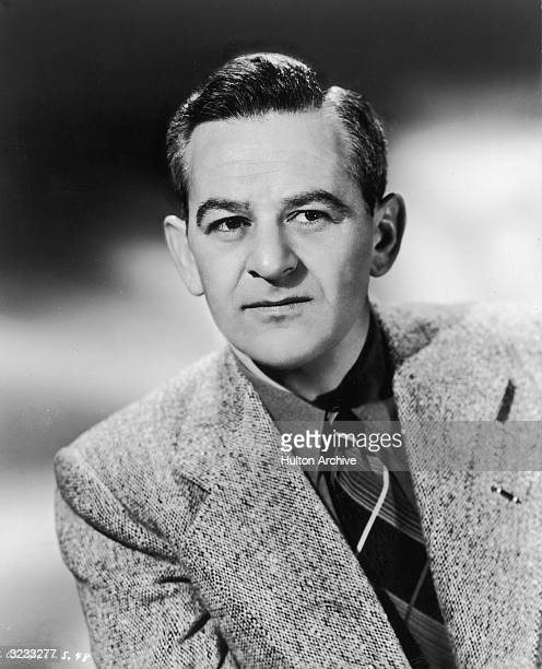 Studio headshot portrait of Frenchborn film director William Wyler