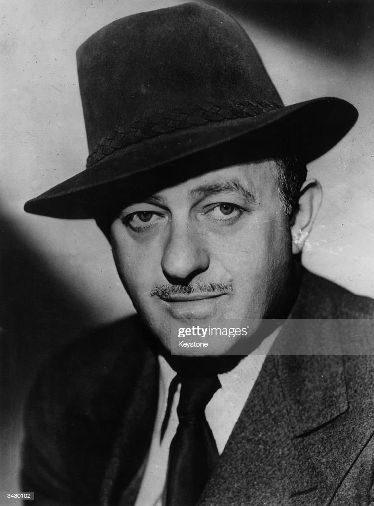The American journalist and playwright, Ben Hecht (1893 - 1964).