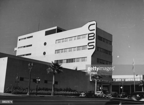 The CBS Studio on Sunset Boulevard Hollywood