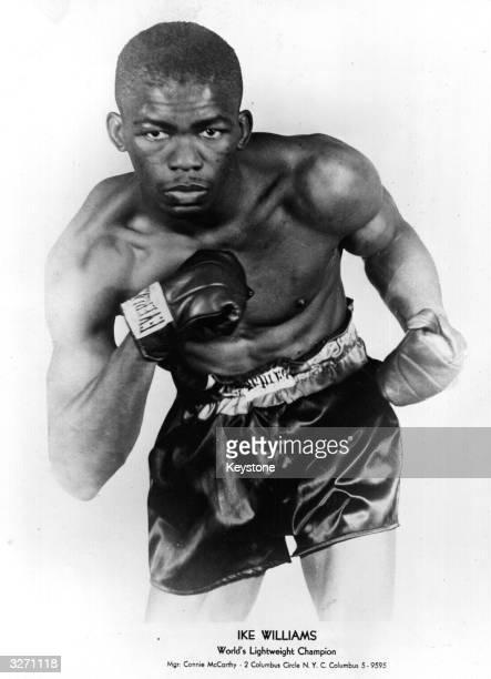 US lightweight boxer Ike Williams the current world lightweight champion