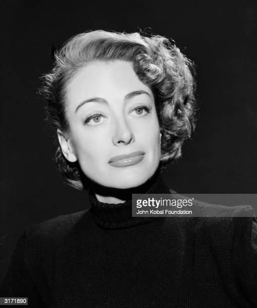 American film actress Joan Crawford