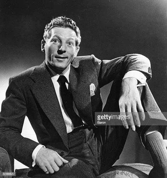Danny Kaye the American film and stage singer and actor Known for his slapstick antics and tonguetwisting songs