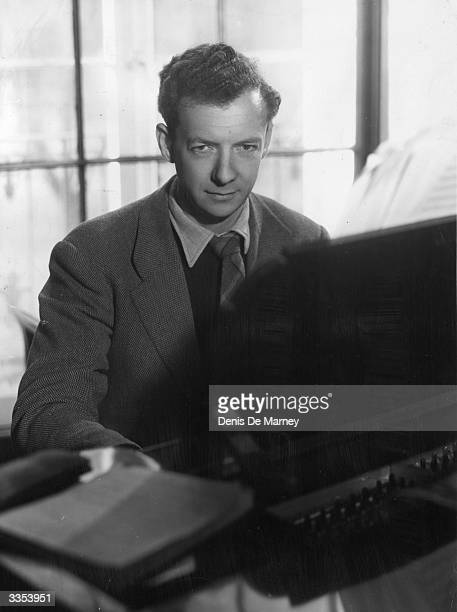 English composer pianist and conductor Baron Benjamin Britten of Aldeburgh