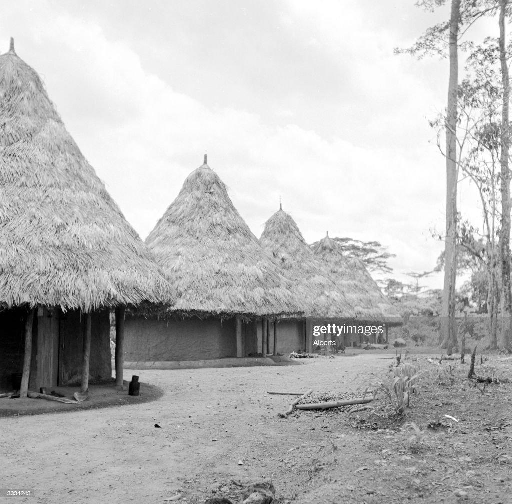 Liberian Village : Nachrichtenfoto