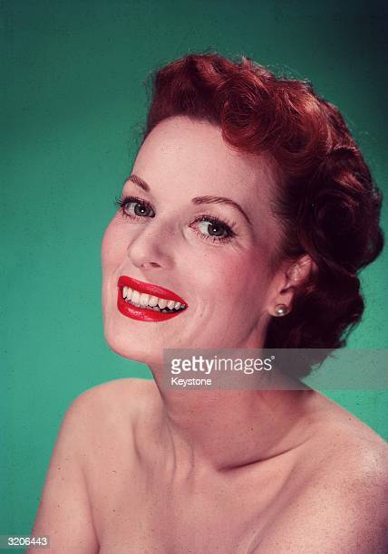 Irish actress Maureen O'Hara
