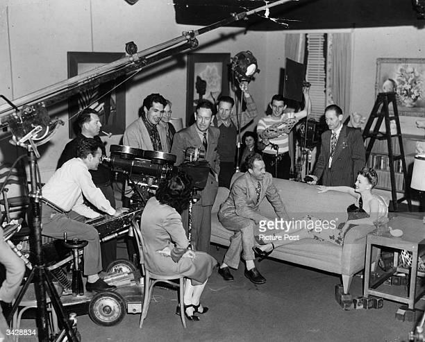 Film test at 20th Century Fox.