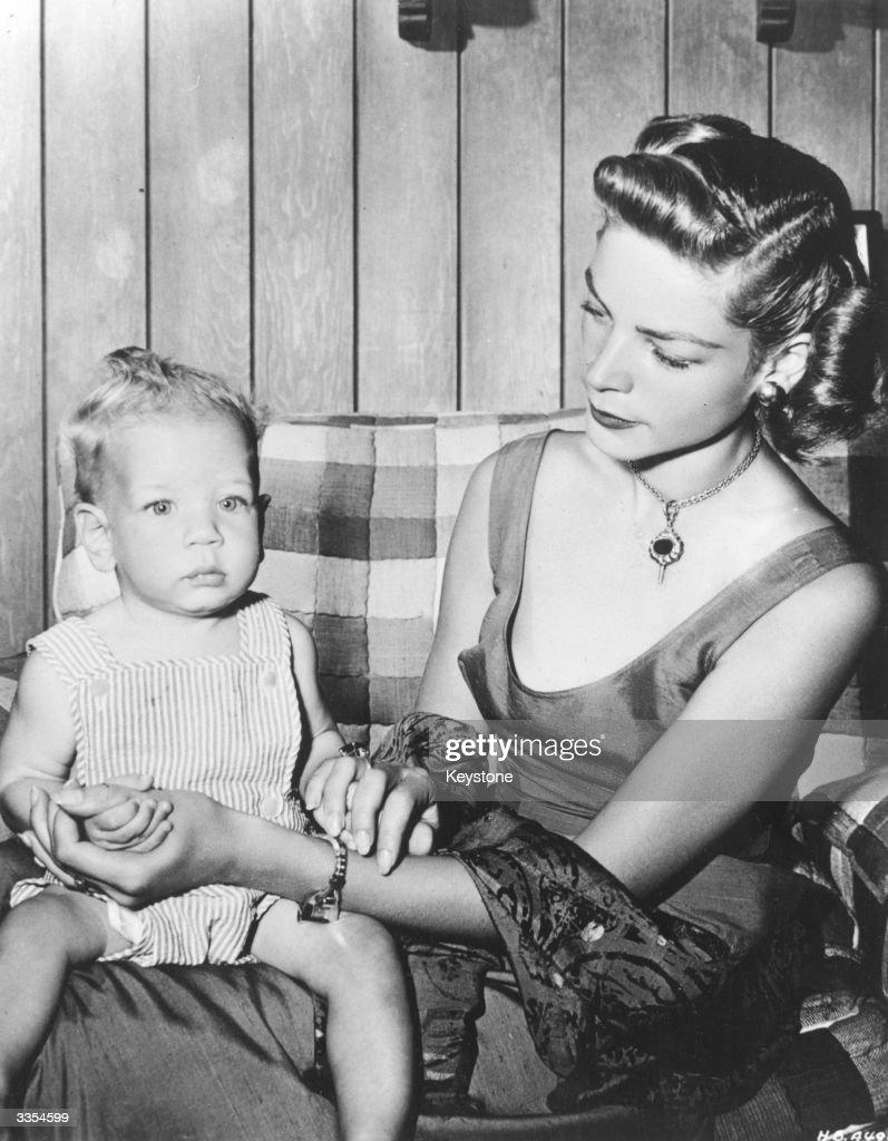 Bacall's Baby : News Photo