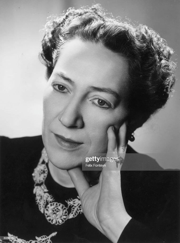 Costume and jewellery expert Doris Langley Moore.