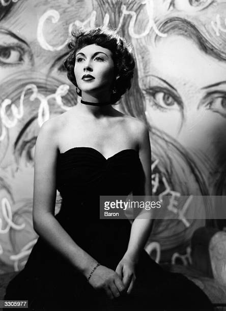 Hazel Court the film star and actress