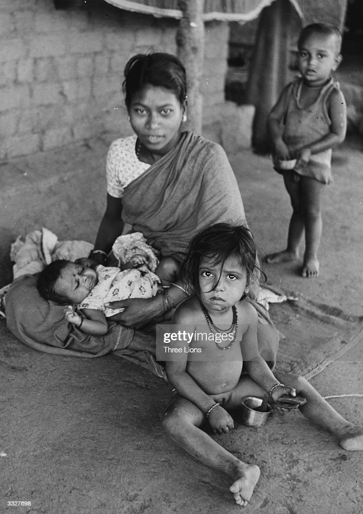 a family from the untouchable caste in india ニュース写真 getty
