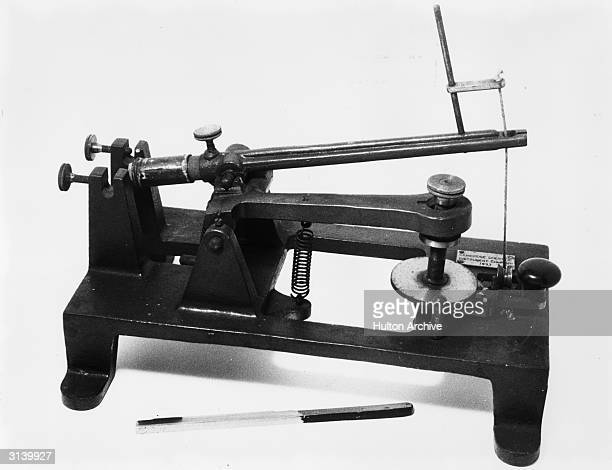 A microtome a scientific instrument for cutting thin sections of objects for microscopic examination