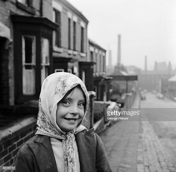 Pottery worker's daughter in Stoke-on-Trent, the centre of the British ceramics industry.