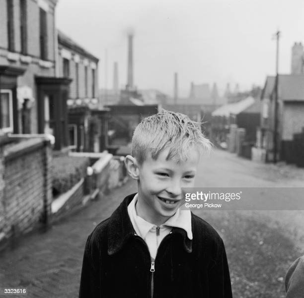 Pottery worker's son in Stoke-on-Trent, the centre of the British ceramic industry.