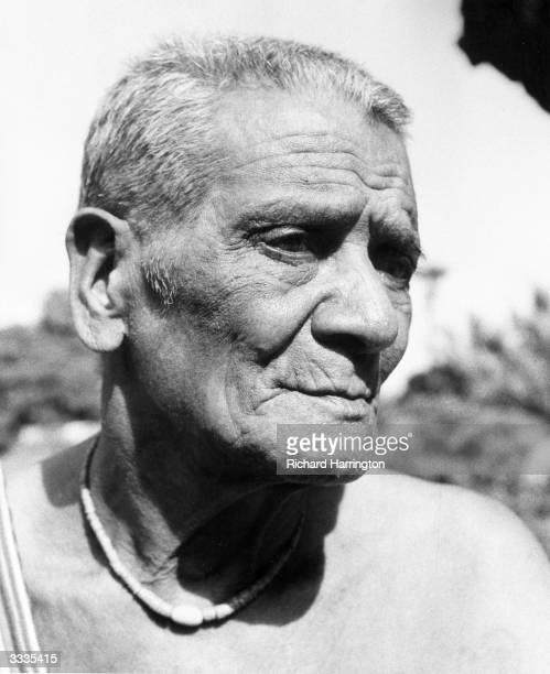 A Timorese village chief near Lautem Portuguese Timor