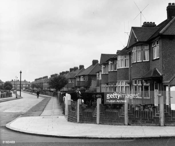 A typical suburban street in Isleworth Greater London