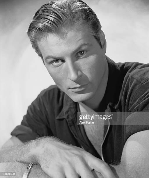Actor Lex Barker , the tenth 'Tarzan'.