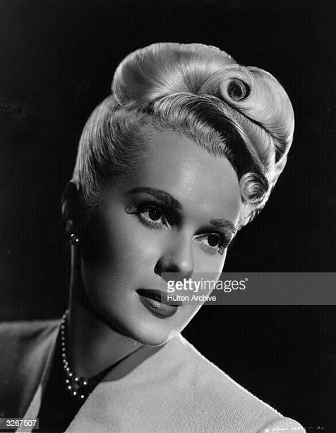 Adele Jergens the Hollywood film actress and former model She played leads and second leads in some 50 films usually show girls or gangster molls