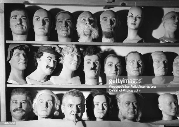 Among rows of mannequin heads in a storeroom in Los Angeles Californnia there appears PolishAmerican photographer Arthur Fellig better known as...