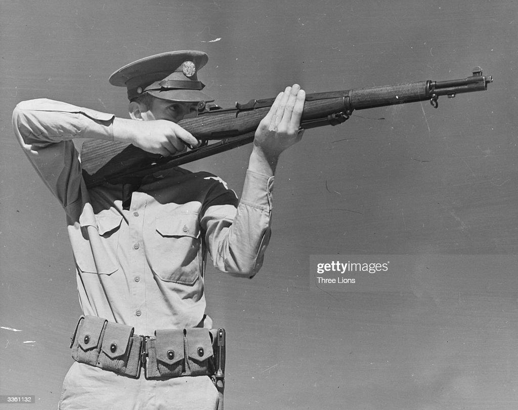 Garand Rifle : Fotografía de noticias