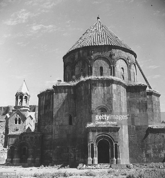 An unattended Russian church in eastern Turkey a remnant of the Russian occupation before the First World War