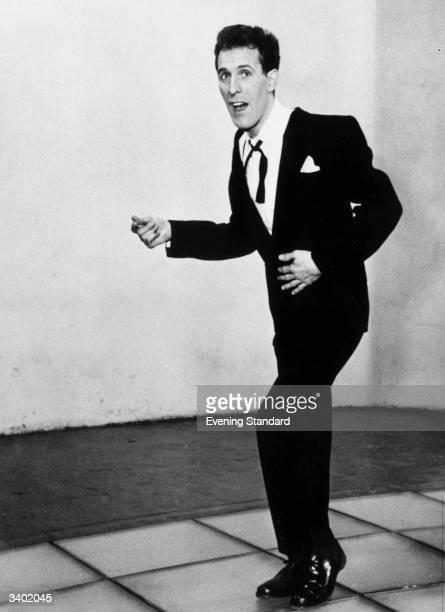 British entertainer and broadcaster Bruce Forsyth