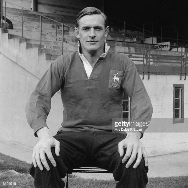 British rugby player Reg Marques who played for Cambridge Hertfordshire and England