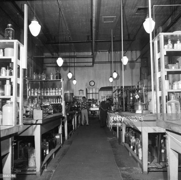 Edison's laboratory, now the Edison Museum, in West Orange, New Jersey. The laboratory has been left exactly how it was when Edison was experimenting...