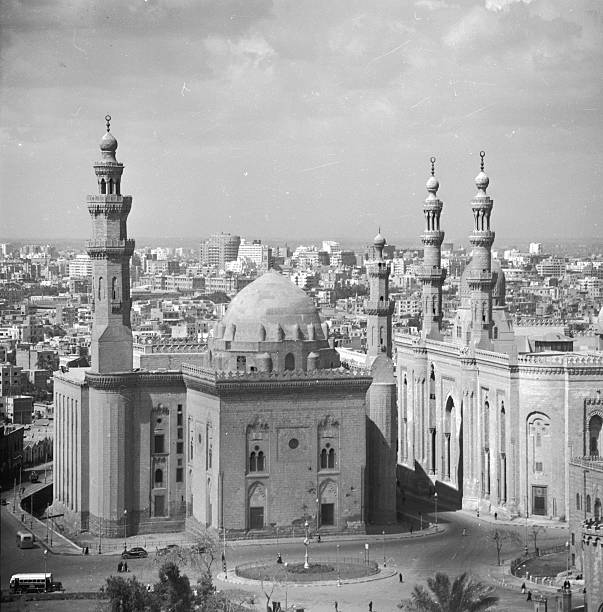 El Azhar Mosque at Cairo.