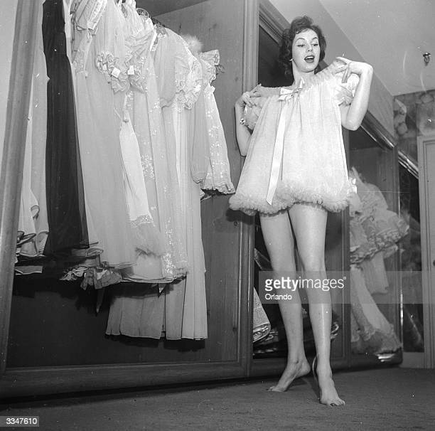 Negligee Models Stock Photos And Pictures Getty Images