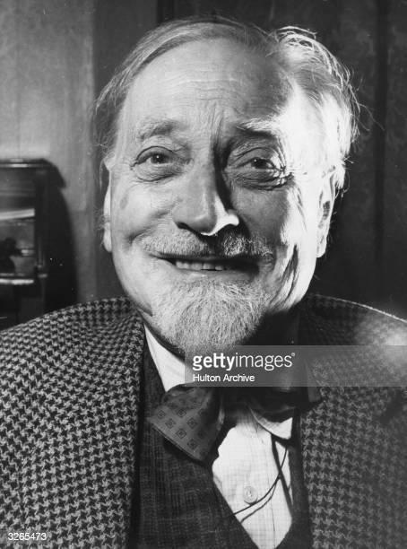 'Scottish' author Sir Compton Mackenzie who was born in West Hartlepool but lives in Edinburgh and has found much of his inspiration in his adopted...