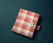 Circa 1950 still life of anne franks red plaid diary her first in picture id3247440?s=170x170