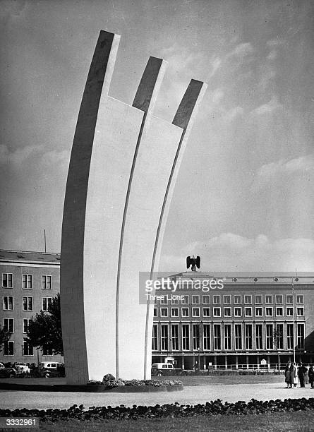 The Airlift Monument in memory of the Berlin blockade.