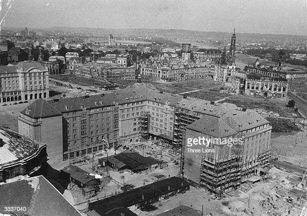 The ancient German city of Dresden continues the task of reconstruction after the devastation of War and the allied saturation bombing that levelled...