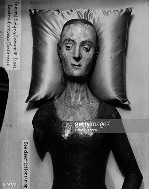 The effigy of Catherine de Valois in Westminster Abbey London the earliest European death mask She was queen of England the wife of King Henry V they...