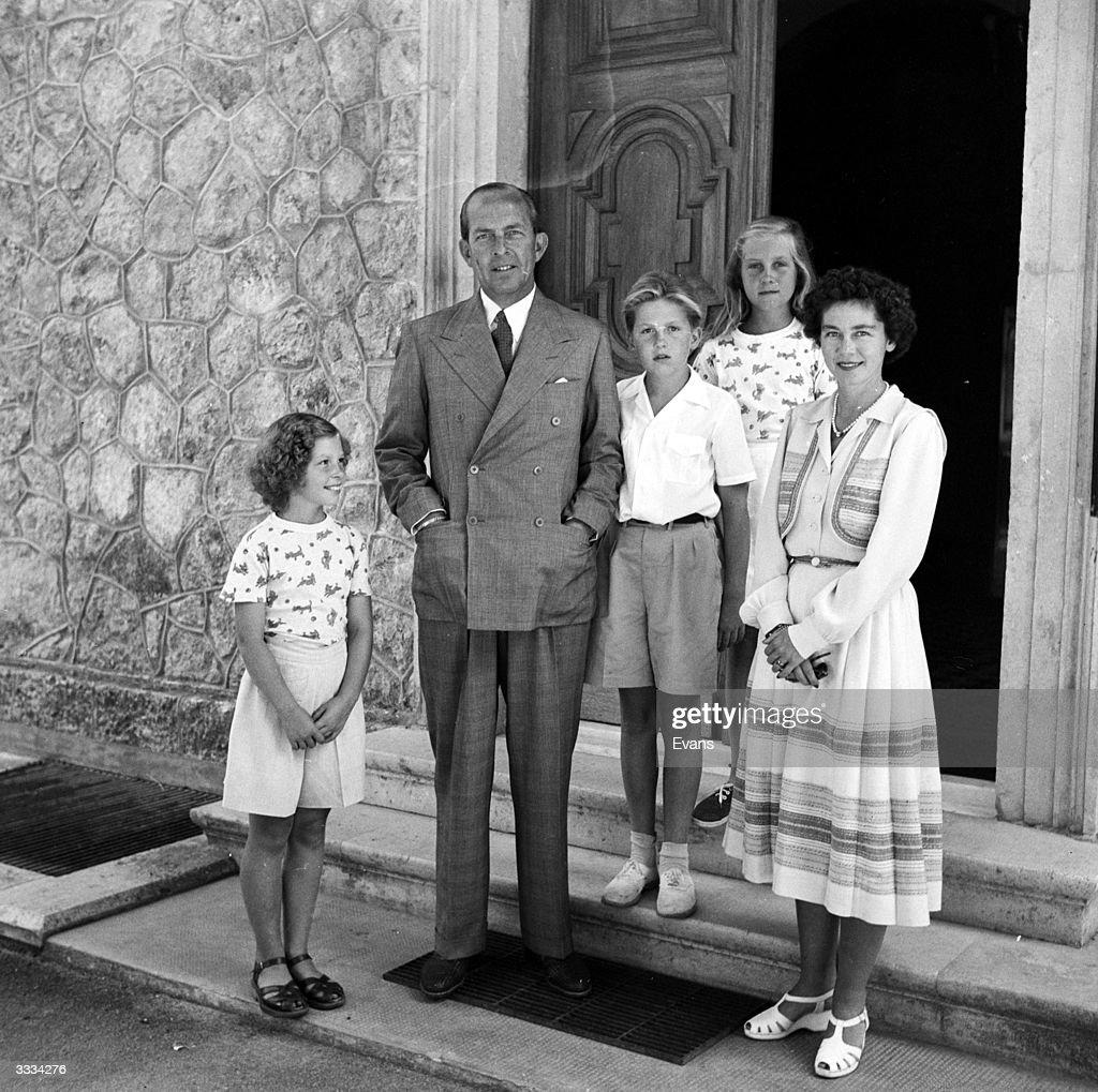 Greek Royals : News Photo