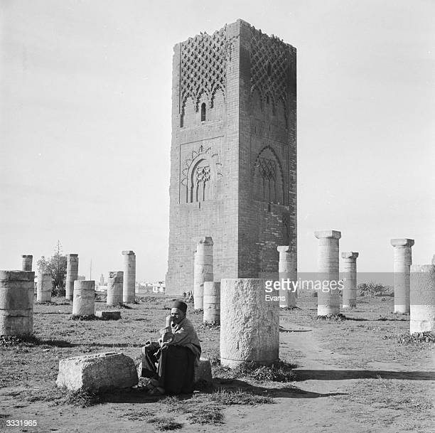 The Hassan Tower in Rabat built by Yakub alMansur a Sultan of the 12th century