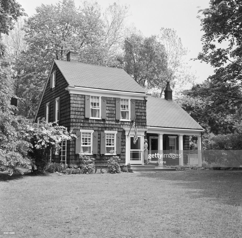 The house at New Rochelle, New York, given to revolutionary philiosopher Thomas Paine by the Continental Congress in gratitude for his services to the American Revolutionary cause.