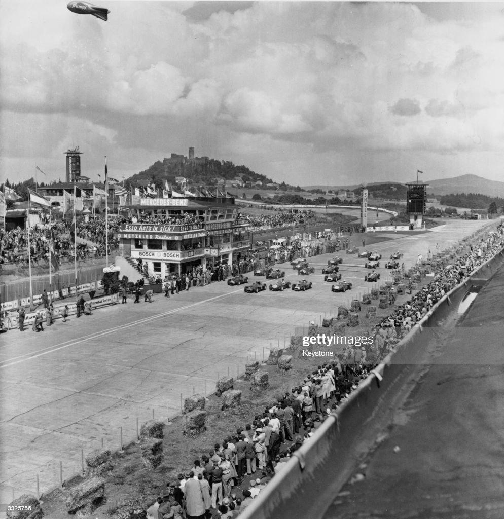 The start of the German Grand Prix.