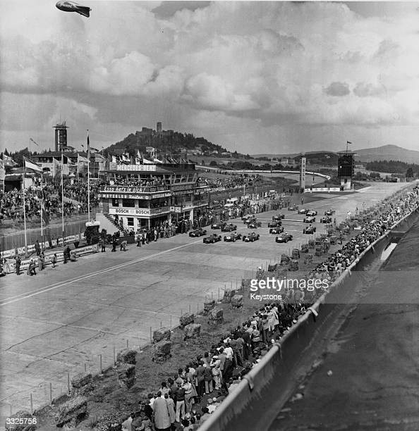 The start of the German Grand Prix