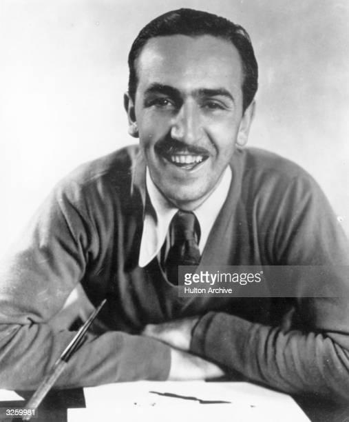 Walt Disney American cartoonist and film maker
