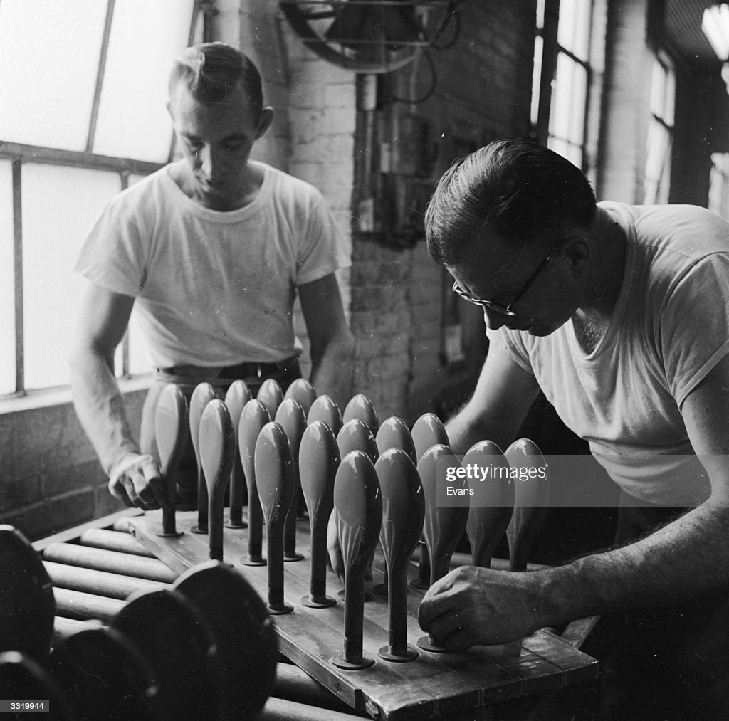 Workers at the National Latex Products Company, Ashland
