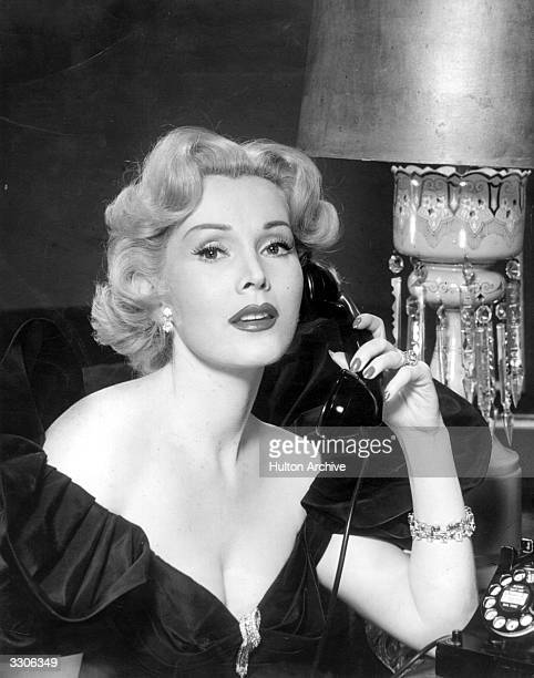 Zsa Zsa Gabor the Hollywood star and film actress and most famous of the Gabor sisters Born in Hungary they all went to the USA to start their...