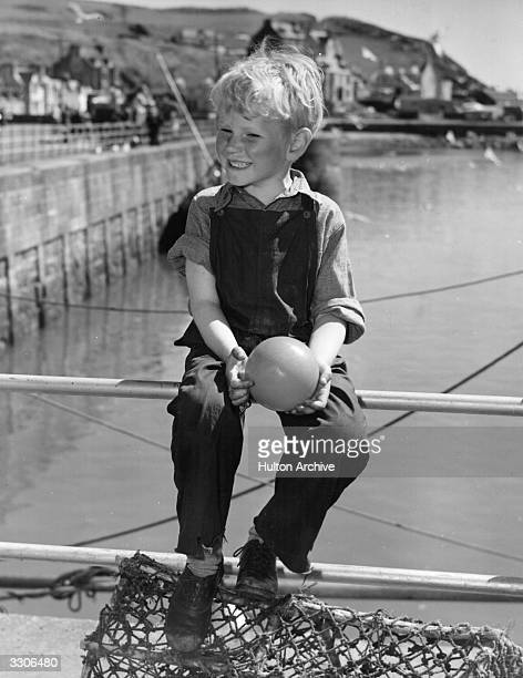 Sixyearold child actor Jon Whiteley He is starring in 'Hunted' an Independent Artists film also starring Dirk Bogarde and directed by Charles Crichton