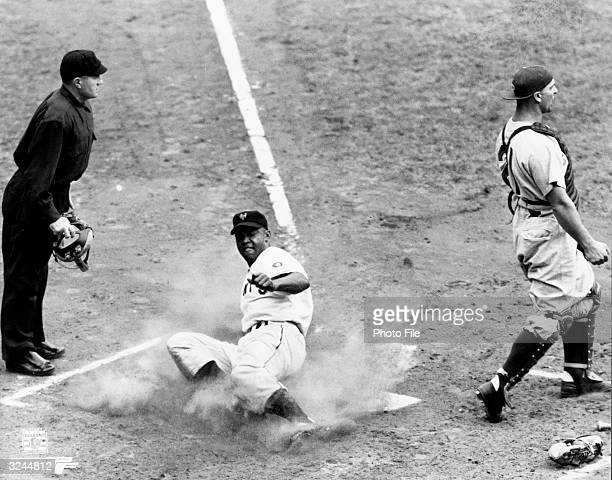 AfricanAmerican baseball player Monte Irvin one of the first AfricanAmerican players in the Major Leagues and an infielder and outfielder for the New...