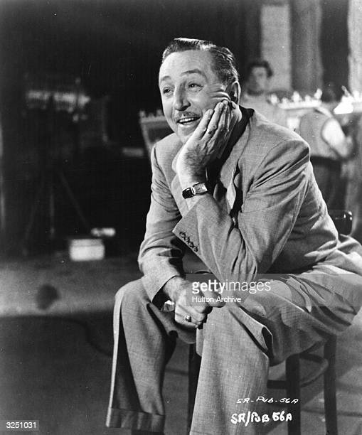 American animator and director Walt Disney , whose name is synonymous all over the world with children's cartoon films, particularly those featuring...