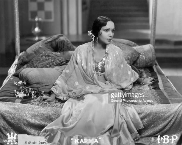Davika Rani the Indian actress as she appears in 'Karma'