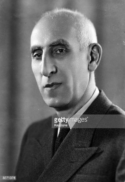 Iranian statesman Mohammed Mosaddeq also spelt Massaddiq or Mossadegh president of Iran