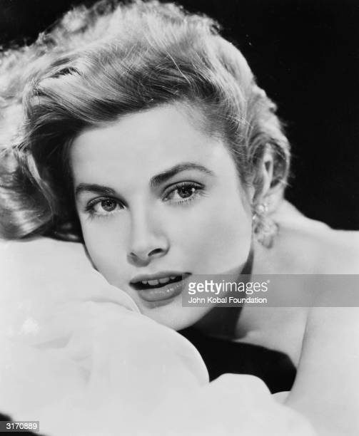 American actress Grace Kelly the heroine of such classics as 'High Noon' 'Rear Window' and 'High Society'
