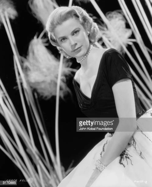 American actress Grace Kelly who became Princess Grace of Monaco in 1956 following her marriage to Prince Rainier III